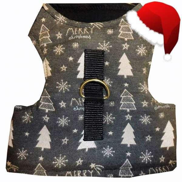 Walking Jacket Laufgeschirr Katzengeschirr CHRISTMAS TREE